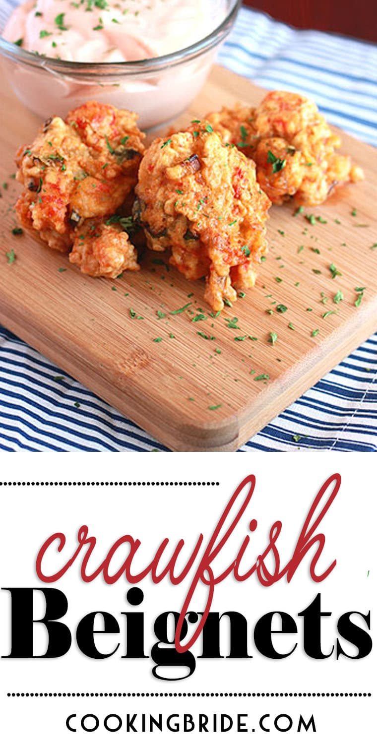 Looking for crawfish recipes? Crawfish meat is fritter fried into crispy golden