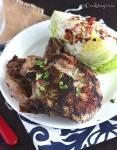 Pork Chops with Herb Pesto - CookingBride.com