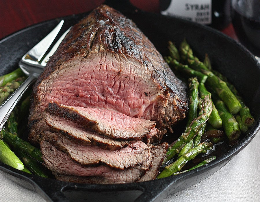 Oven Roasted Roast Beef Dinner | The Cooking Bride