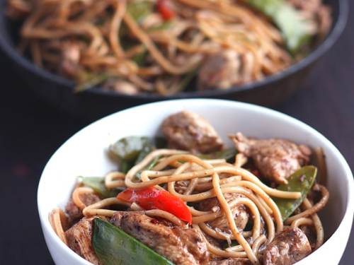 Chicken chow mein the cooking bride forumfinder Image collections