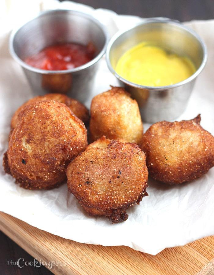 Mini Corn Dogs - CookingBride.com