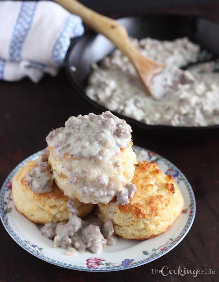 Sausage Sawmill Gravy - CookingBride.com