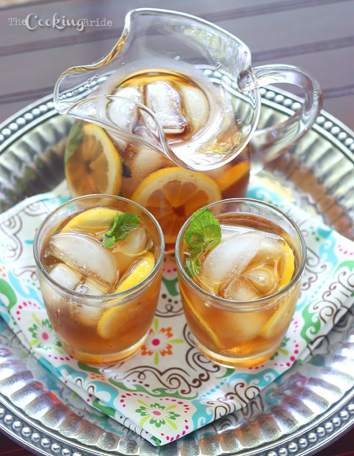 Love sweet tea? Look no further than this Southern sweet tea recipe. Nothing is more refreshing on a hot day than slowly sipping on an ice cold glass of tea.