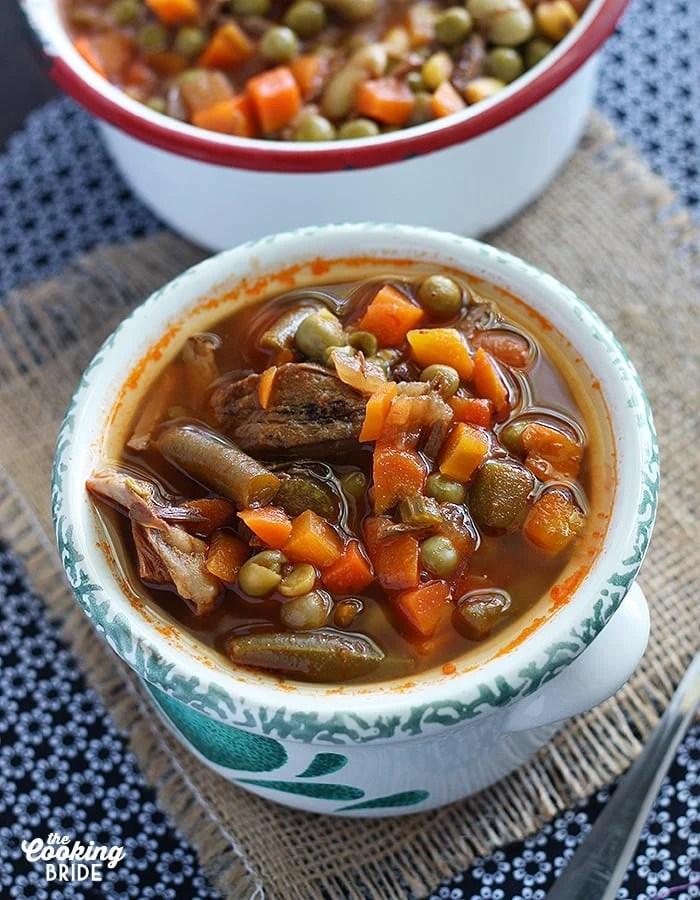 Vegetable Beef Soup - CookingBride.com
