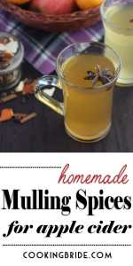 mulling spices for apple cider