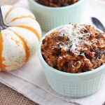 Pumpkin Risotto with Chorizo and Mushrooms - CookingBride.com