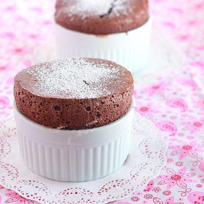 Mini Chocolate Soufflés