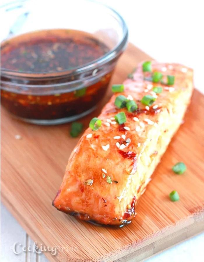 Chili Teriyaki Salmon - CookingBride.com