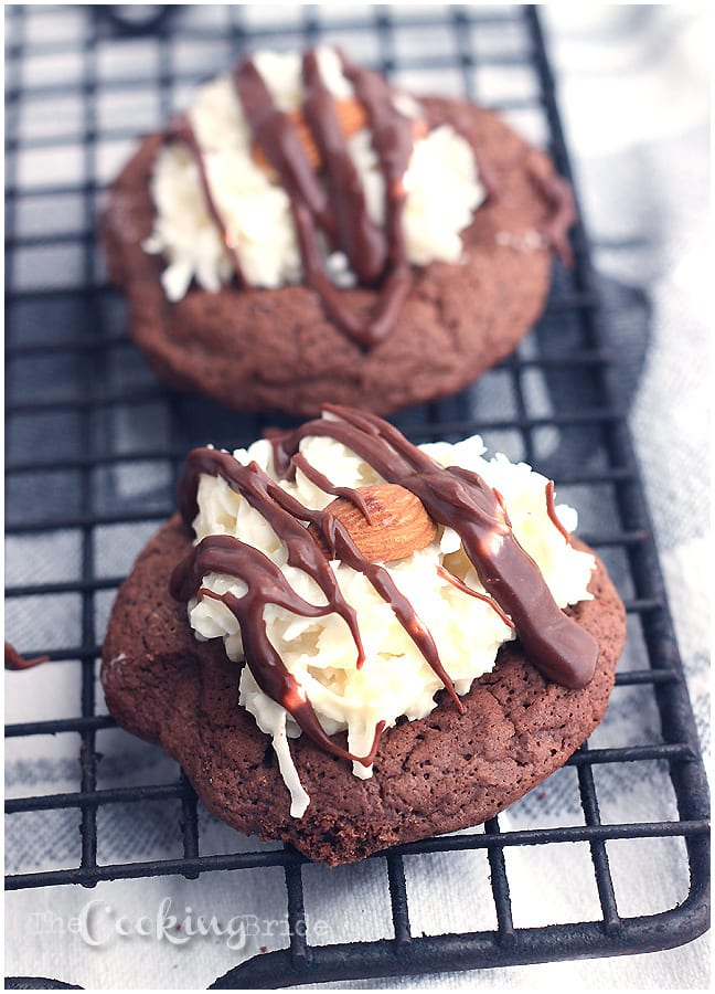 Almond Joy Cookies - CookingBride.com
