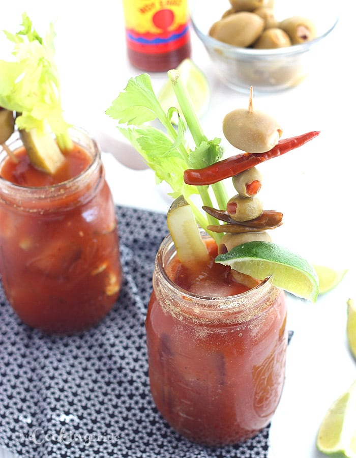 Bloody Mary Mix for a Crowd - CookingBride.com