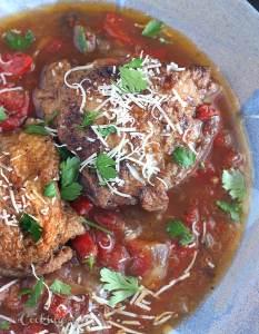Crock Pot Chicken Cacciatore - CookingBride.com