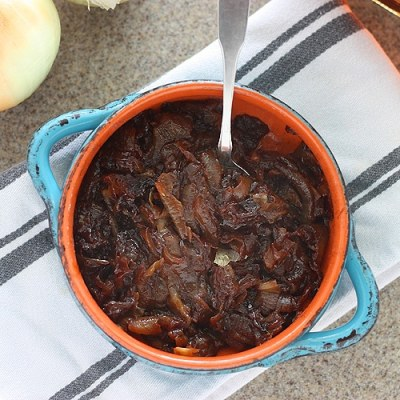 Bourbon and Brown Sugar Caramelized Onions