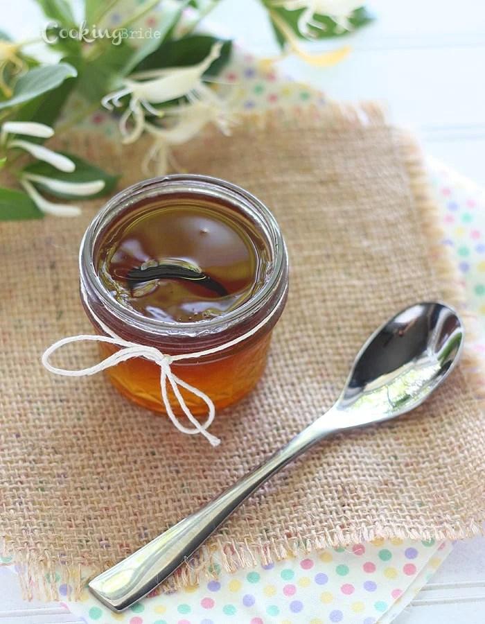 Vanilla Bean Honeysuckle Jelly - CookingBride.com