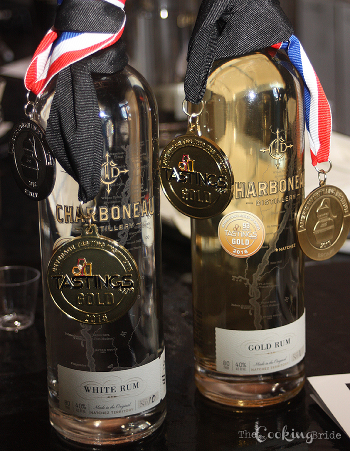 Charboneau Distillery White and Gold Rum - CookingBride.com
