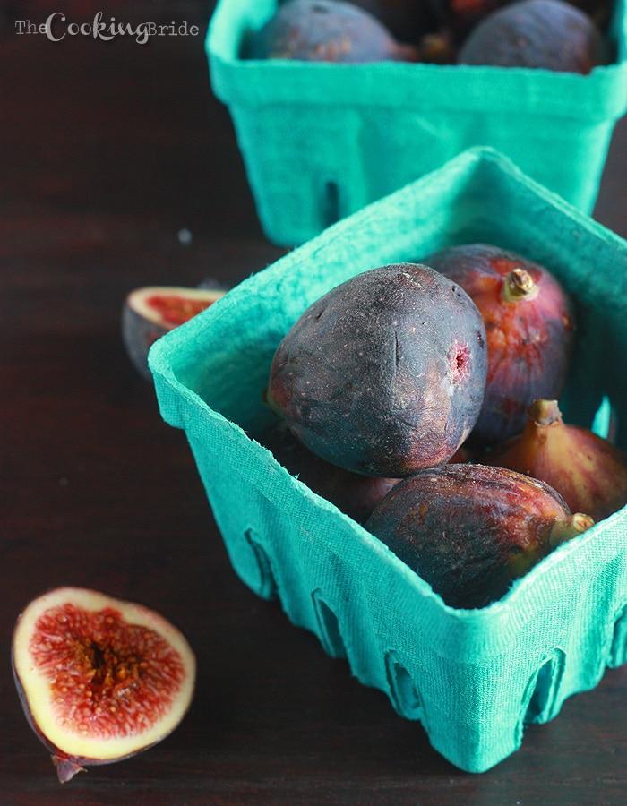 Cinnamon Sugar Pecan and Fig Ice Cream - CookingBride.com