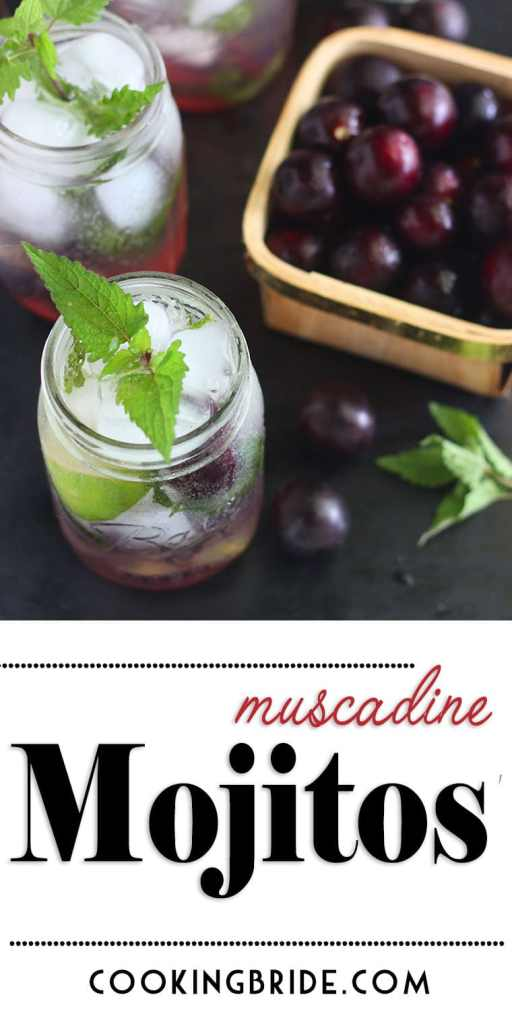 muscadine mojito