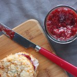 Liven up holiday recipes with a dollop of spicy jalapeno cranberry chutney. Fresh fruits, jalapenos and cranberries are both zesty and tangy.