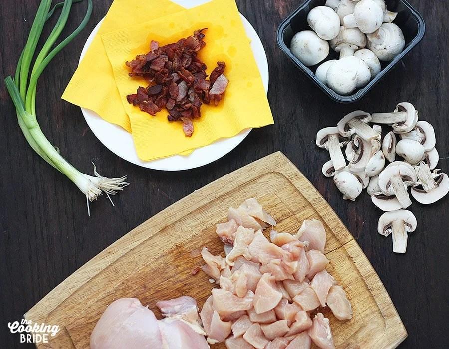 chicken and mushroom