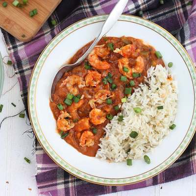 Shrimp and Crawfish Étouffée