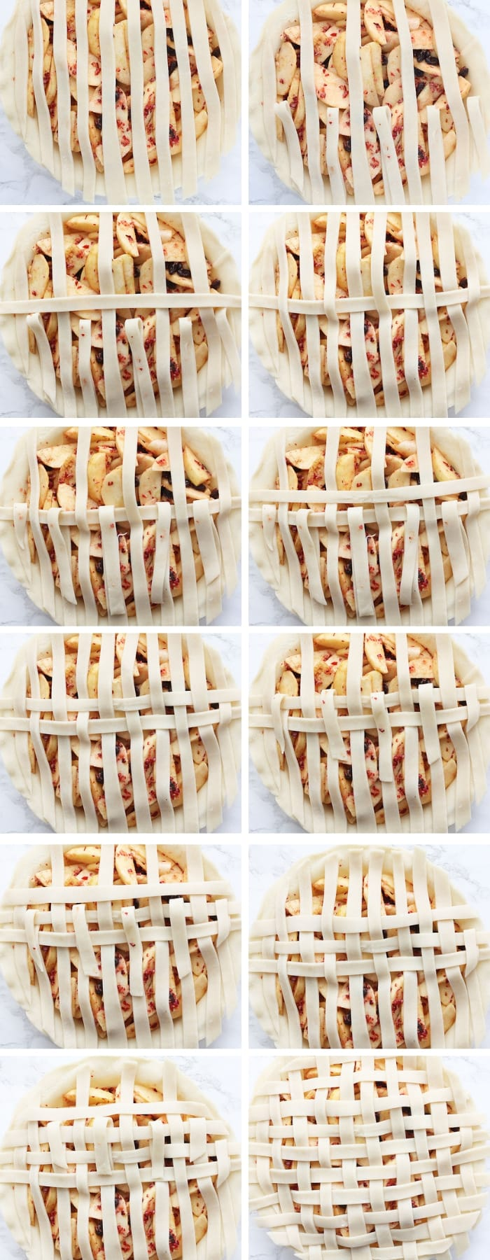 This easy step-by-step guide (with pictures), will give you the confidence to make a beautiful lattice pie crust at home.
