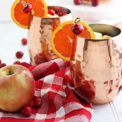 Cranberry Spiced Apple Cider