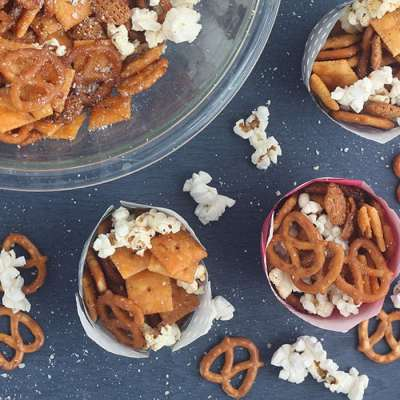 Buttery Seasoned Snack Mix