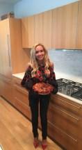 Alicia Froio, DC, Cooking