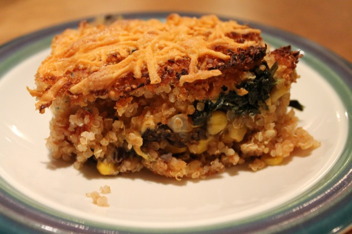 Vegan Gluten-Free Mexican Quonia Bake