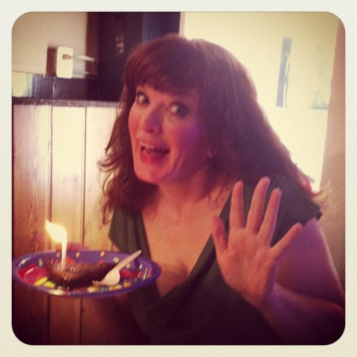 The birthday girl!