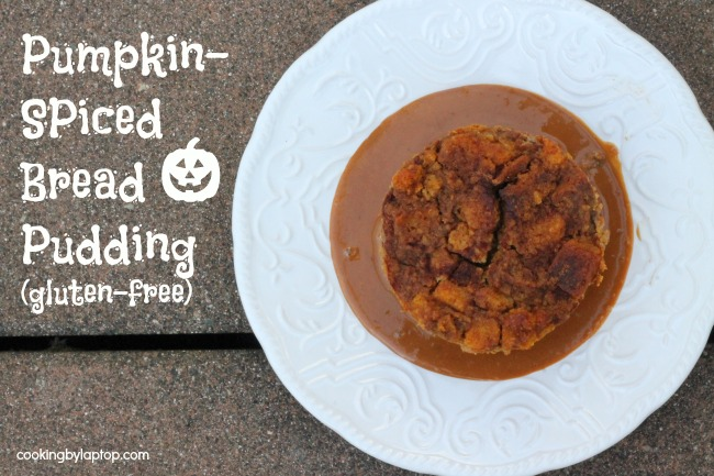 pumpkin spiced bread pudding gluten free