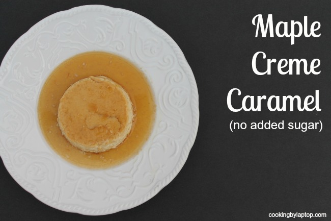 maple creme caramel