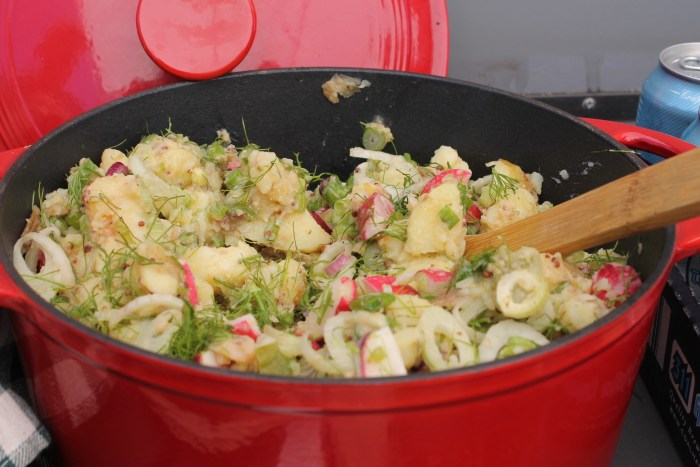potato salad urban digs farm
