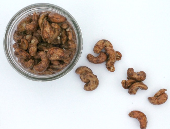 Sweet 'n' Salty 'n' Spicy Tamari Cashews