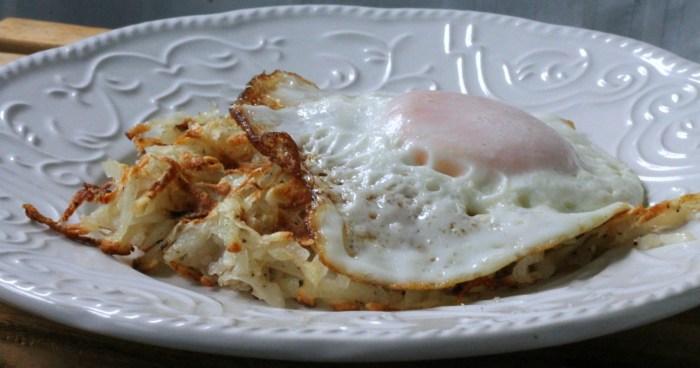 waffled hash brown benny