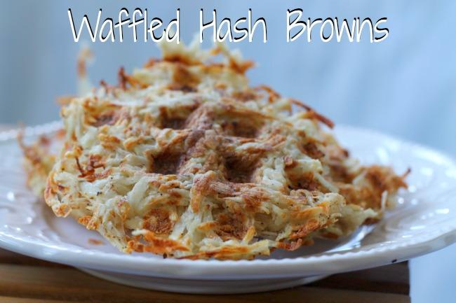 waffled hash browns