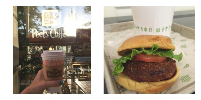 peets coffee and shake shack