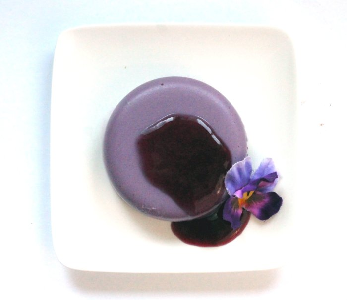Purple Panna Cotta Vegan