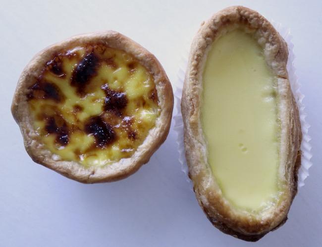 Portugese Tart vs Egg Tart
