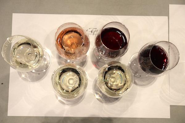 Blue Grouse Wines tasting