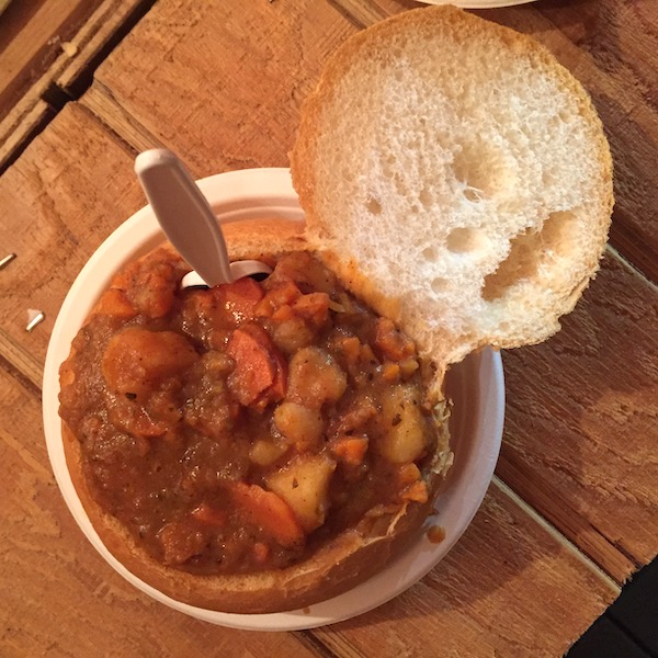 Das Gulasch Haus vegan stew