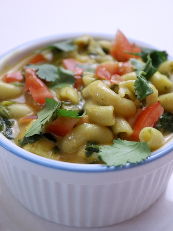 Indian Spiced Mac and Cheese