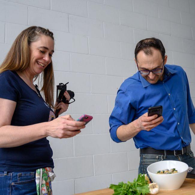Rebecca Coleman & PastaBoyPeter