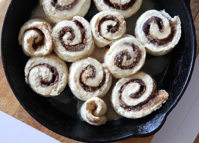 Cinnamon Buns LivB Vegan on a Budget