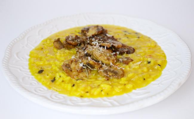 Risotto Milanese Vegan