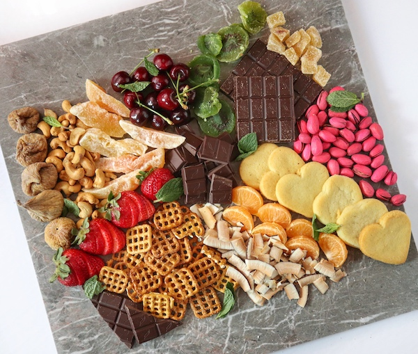 Vegan Chocolate Graze Board
