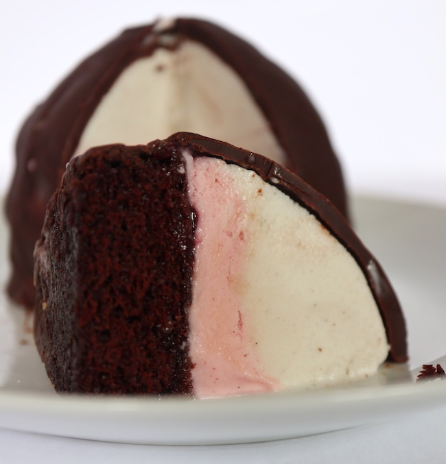 Vegan Ice Cream Bombe