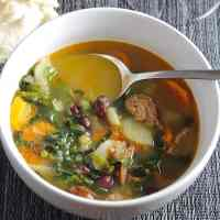 Best Portuguese Kale Soup #winePW