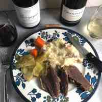 Wine with Corned Beef and Cabbage