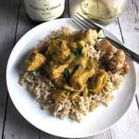 Indian Butter Chicken with Dairy Free Option