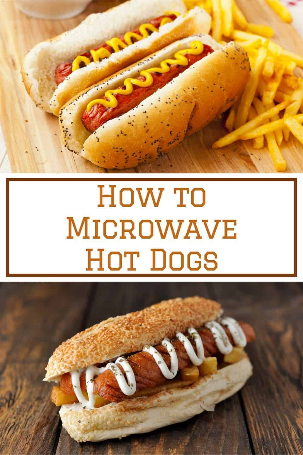how to microwave hot dogs that taste good